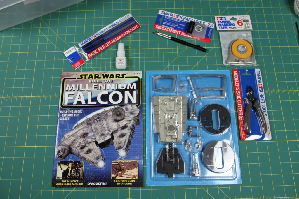 Build Millennium Falcon De Agostini 001