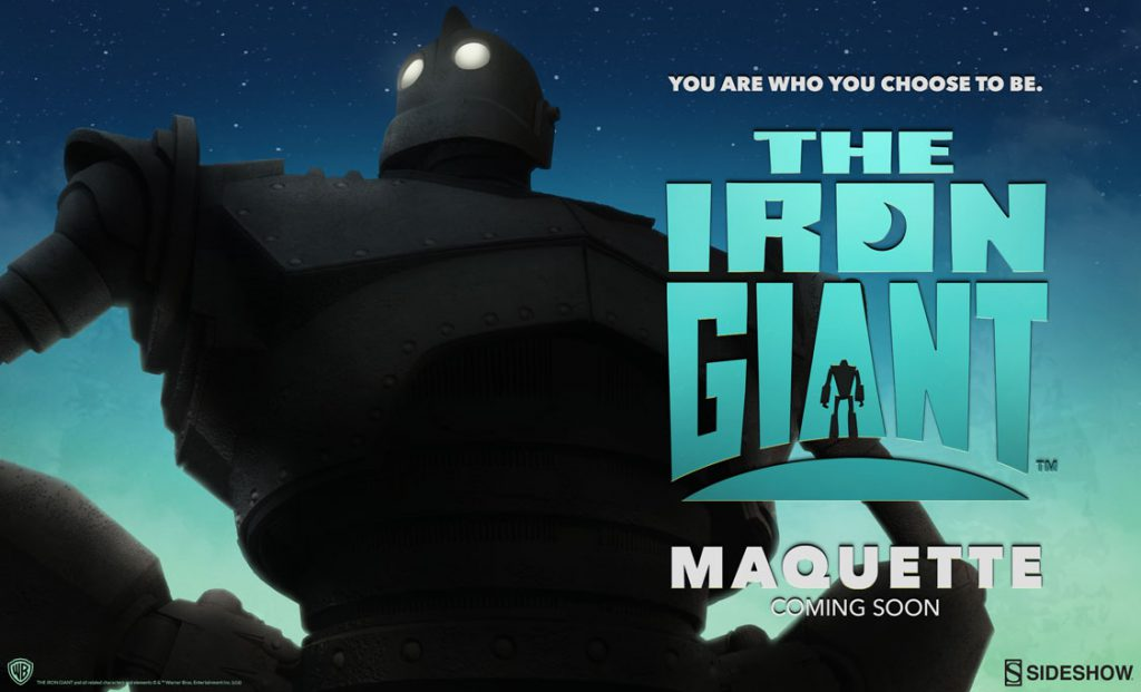 Iron Giant Maquette