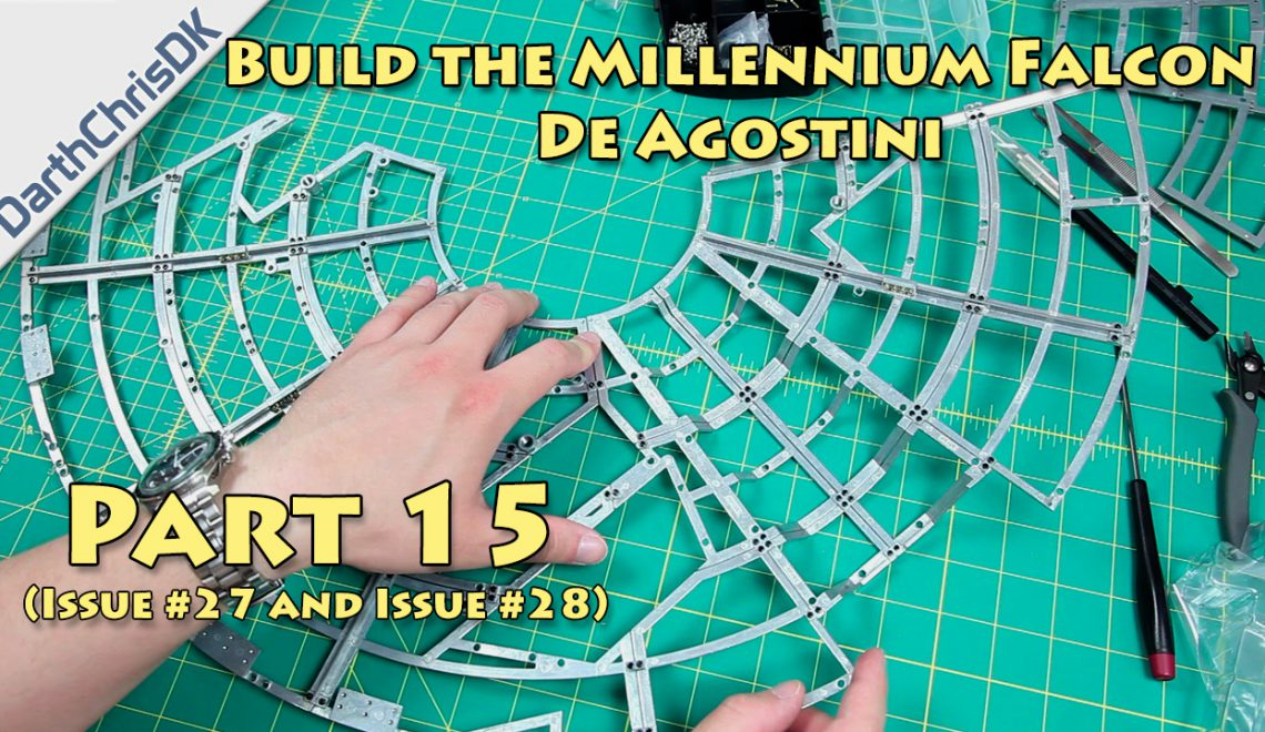 Part 15: Build the Millennium Falcon (De Agostini)