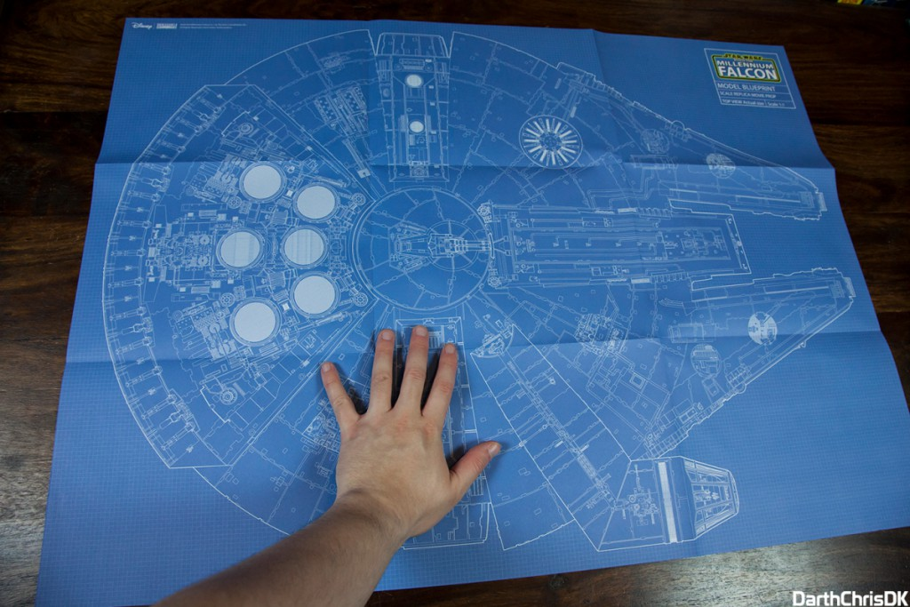 Build Millennium Falcon De Agostini 002