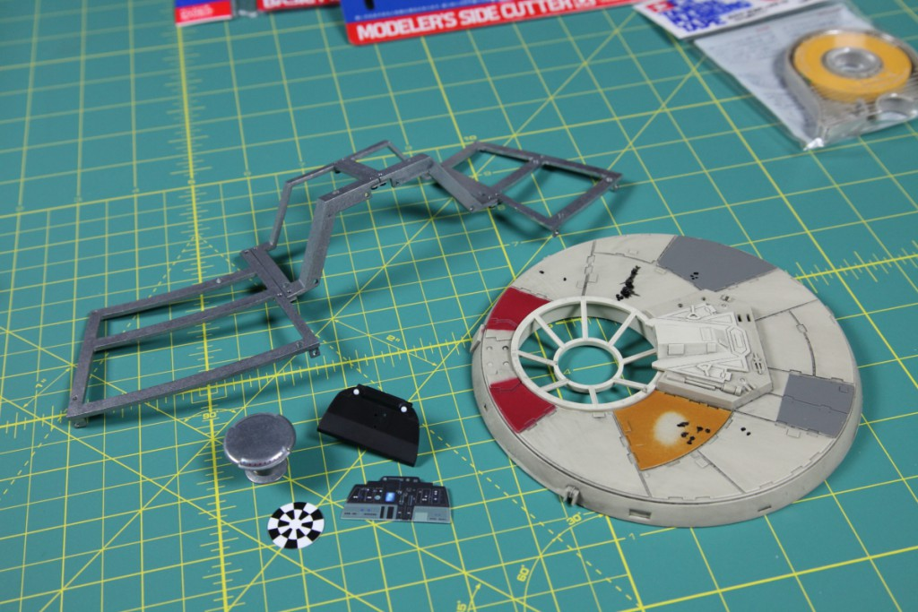 Build Millennium Falcon De Agostini 005