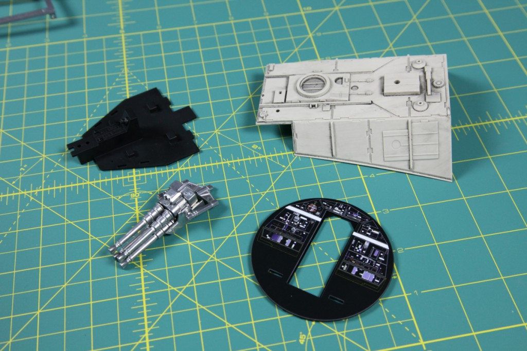 Build Millennium Falcon De Agostini 003