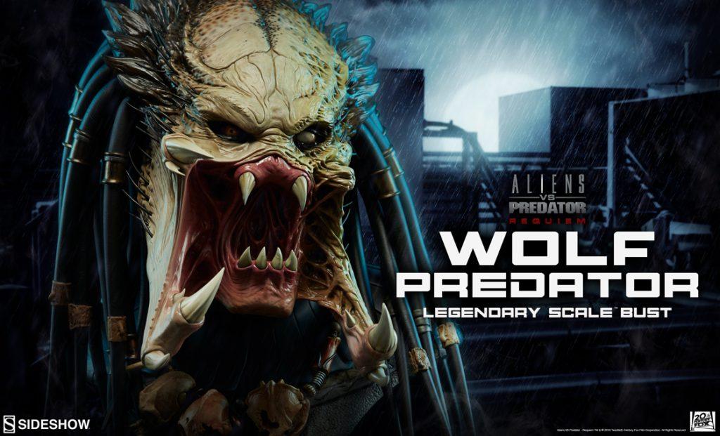 Wolf Predator Legendary Scale Bust