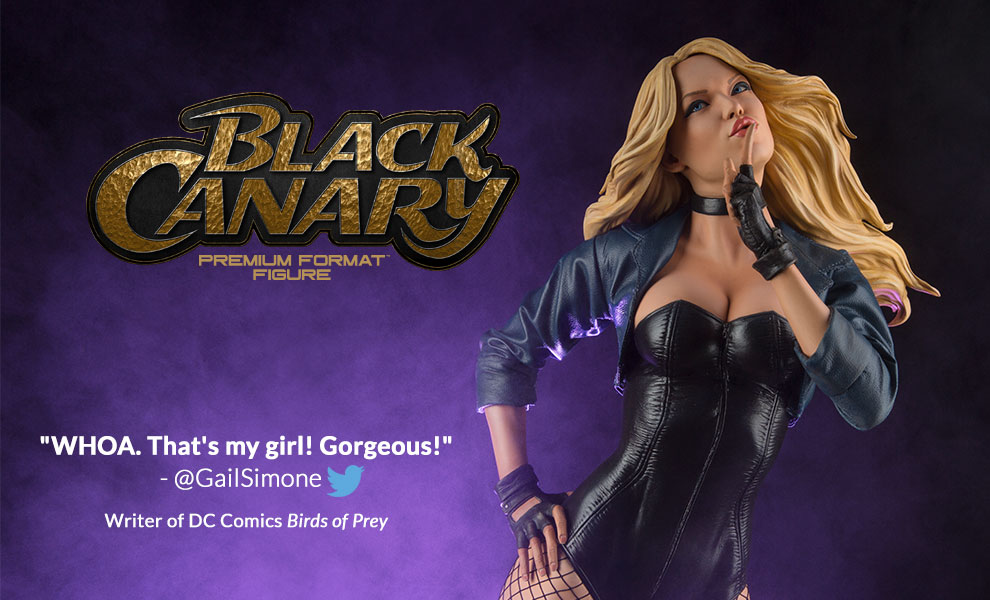 My Thoughts on… Black Canary Premium Format Figure